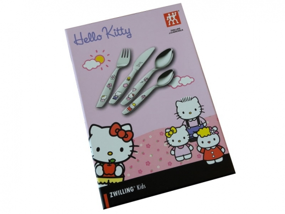 Hello Kitty Kinderbesteck 4tlg.