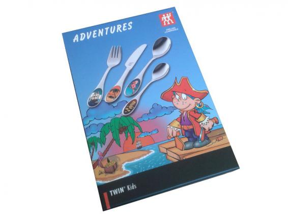 Adventures Kinderbesteck 4tlg.